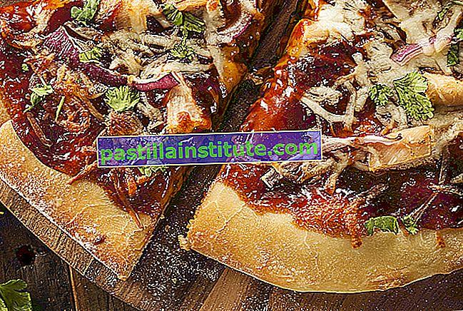 Pizza à la californienne