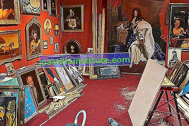 Penipuan seni