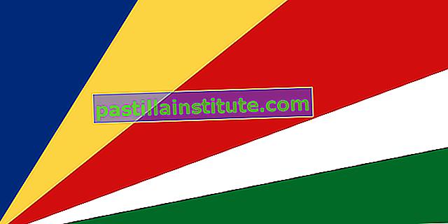 Знаме на Сейшелските острови