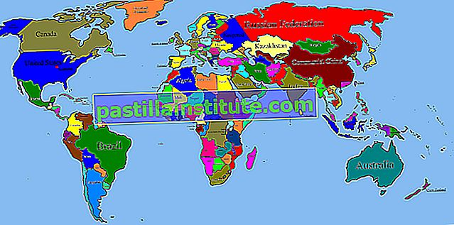 Списък на общите площи на световните държави, зависимости и територии
