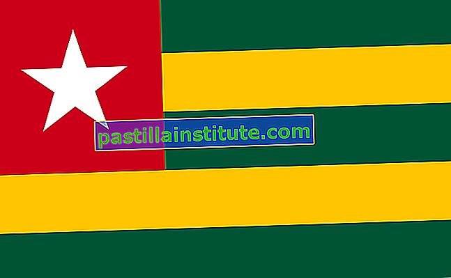 Togos flagga