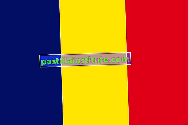 Tchads flagga
