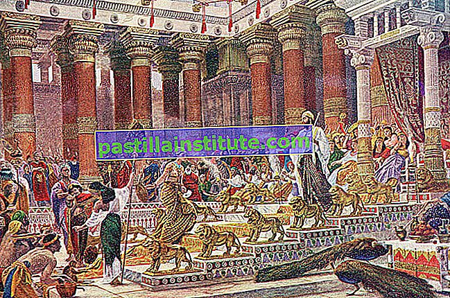 L'arrivée de la reine de Saba